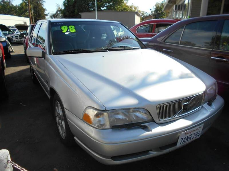 1998 VOLVO S70 GLT 4DR TURBO SEDAN silver abs - 4-wheel antenna type - power anti-theft system