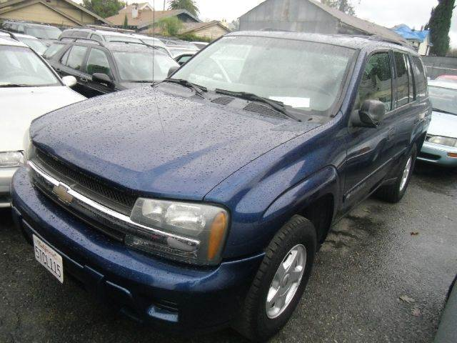 2002 CHEVROLET TRAILBLAZER LS 2WD 4DR SUV blue abs - 4-wheel anti-theft system - alarm axle rat