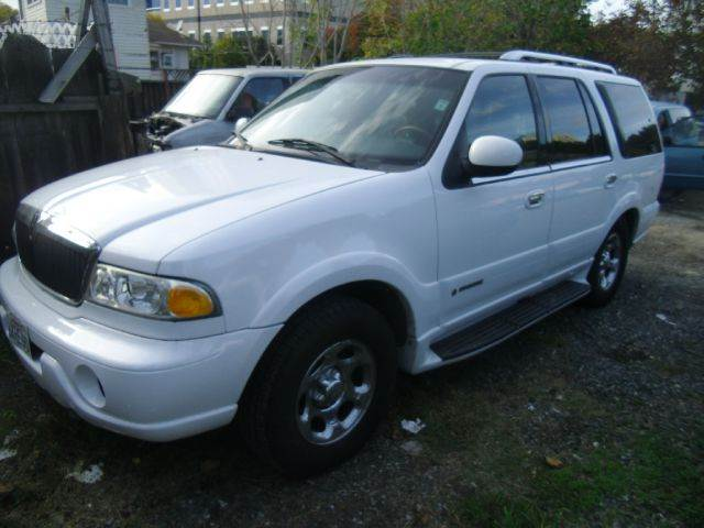 2001 LINCOLN NAVIGATOR 4WD 4DR SUV white abs - 4-wheel adjustable pedals - power anti-theft sys