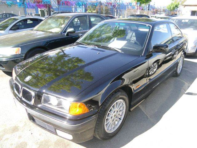 1997 BMW 3 SERIES 328IS black abs - 4-wheel alloy wheels cassette cruise control front air co