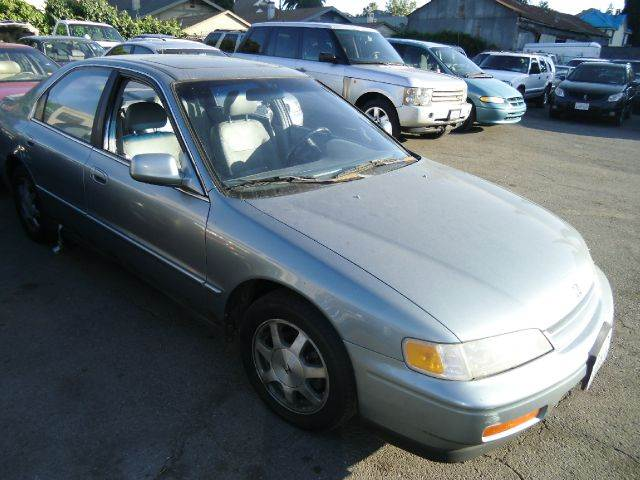 1995 HONDA ACCORD EX SEDAN blue abs brakesair conditioningalloy wheelsanti-brake system 4-whee