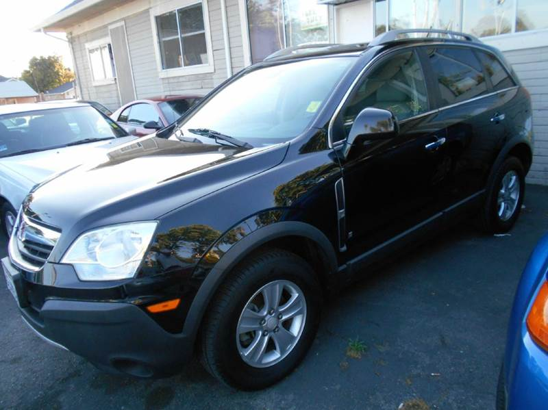 2008 SATURN VUE XE-V6 AWD 4DR SUV black 4wd type - on demand abs - 4-wheel airbag deactivation