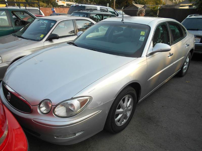 2005 BUICK LACROSSE CXL 4DR SEDAN silver airbag deactivation - occupant sensing passenger anti-t