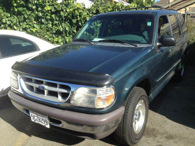 1996 FORD EXPLORER XLT 4-DOOR 2WD unspecified abs brakesair conditioningalloy wheelsanti-brake