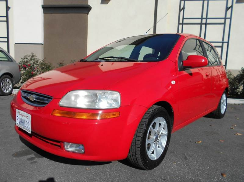 2006 CHEVROLET AVEO SPECIAL VALUE 4DR HATCHBACK red air filtration airbag deactivation - occupan