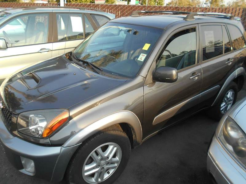 2003 TOYOTA RAV4 gray air conditioning alloy wheels amfm radio wcd player anti-lock brakes