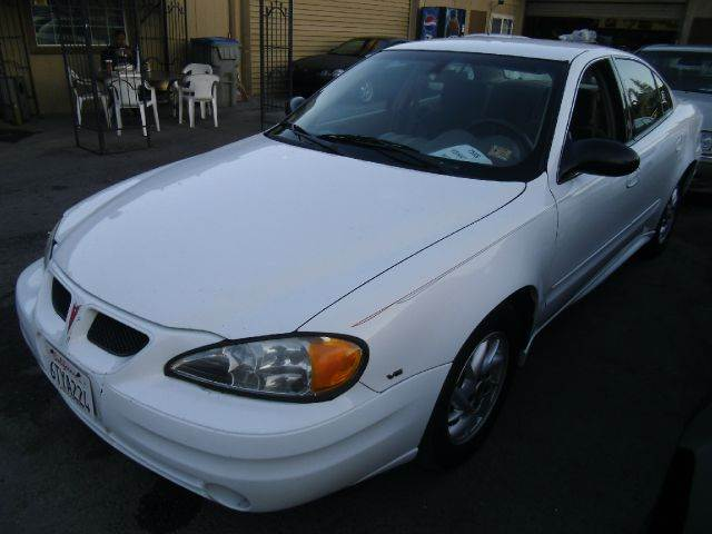 2004 PONTIAC GRAND AM SE1 SEDAN white air conditioningalloy wheelsamfm radioanti-brake system