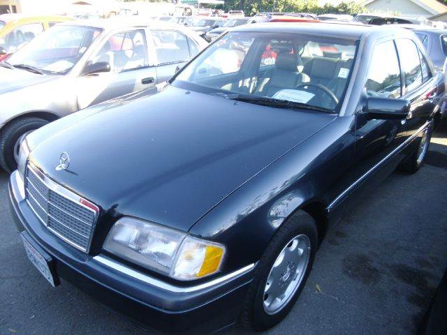 1996 MERCEDES-BENZ C-CLASS C280 blue abs brakesair conditioningalloy wheelsanti-brake system 4