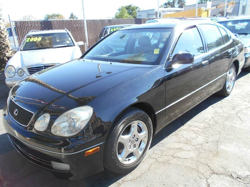 1999 LEXUS GS 300 BASE 4DR SEDAN black abs - 4-wheel anti-theft system - alarm cassette center