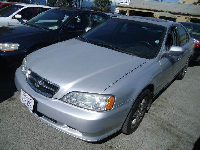 2000 ACURA TL 32 4DR SEDAN silver abs - 4-wheel anti-theft system - alarm cassette center con