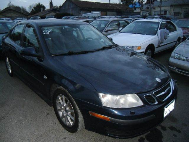 2004 SAAB 9-3 LINEAR SPORT SEDAN blue abs brakesair conditioningalloy wheelsamfm radioanti-br