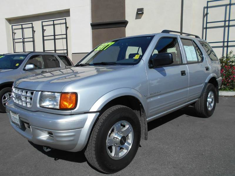 1999 ISUZU RODEO S 4DR V6 SUV silver abs - 4-wheel cassette center console front airbags - dua