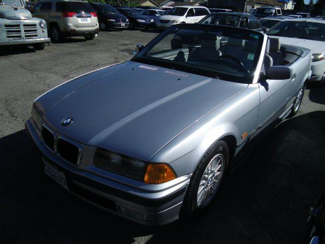 1998 BMW 3 SERIES 323I 2DR CONVERTIBLE silver abs - 4-wheel alloy wheels cassette center consol