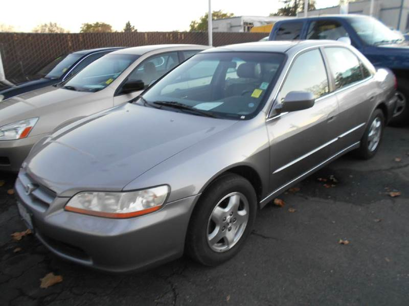 2000 HONDA ACCORD EX V6 4DR SEDAN gray abs - 4-wheel anti-theft system - alarm center console