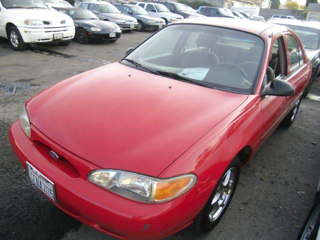 1999 FORD ESCORT LX red amfm radioanti-brake system non-abs  4-wheel absbody style sedan 4-