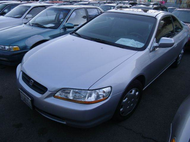 1999 HONDA ACCORD EX COUPE silver abs brakesair conditioningalloy wheelsamfm radioanti-brake