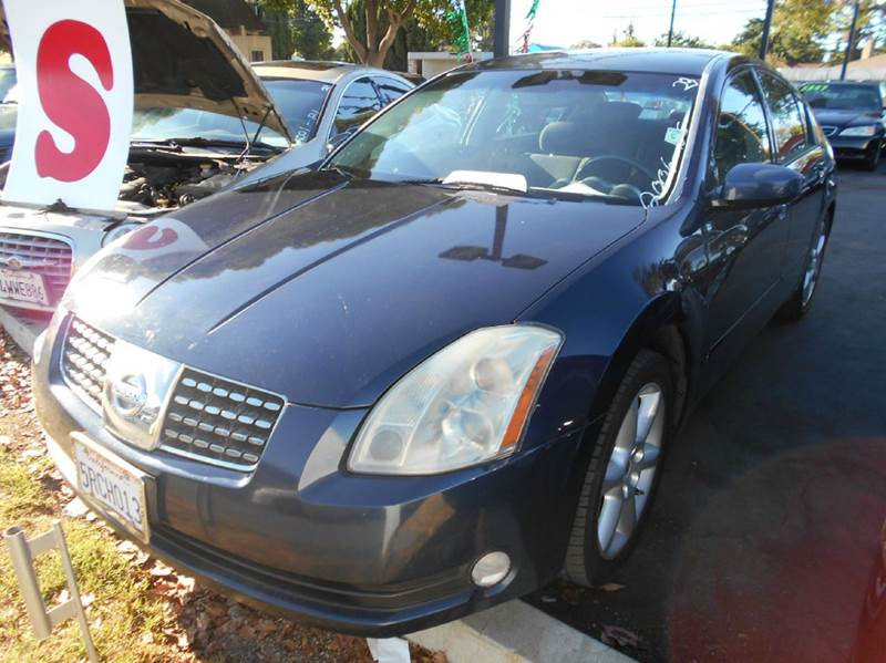 2006 NISSAN MAXIMA 35 SE 4DR SEDAN WAUTOMATIC blue abs - 4-wheel air filtration airbag deacti
