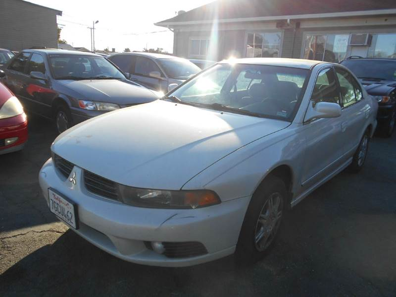 2003 MITSUBISHI GALANT ES 4DR SEDAN white center console clock cruise control front air condit