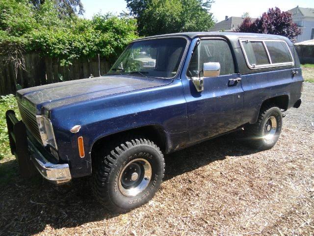 1975 CHEVROLET BLAZER 4WD blue 0 miles VIN 11111111111111975