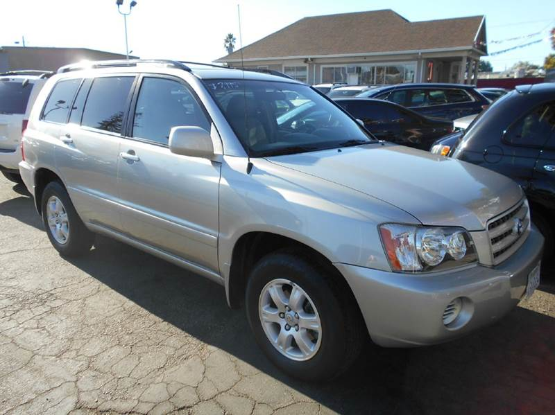 2001 TOYOTA HIGHLANDER BASE V6 AWD 4DR SUV silver abs - 4-wheel captain chairs - 2 cassette cl