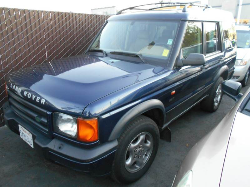 2001 LAND ROVER DISCOVERY SERIES II SE 4WD 4DR SUV blue abs - 4-wheel anti-theft system - alarm