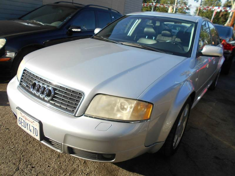 2003 AUDI A6 42 QUATTRO AWD 4DR SEDAN silver abs - 4-wheel anti-theft system - alarm cd change