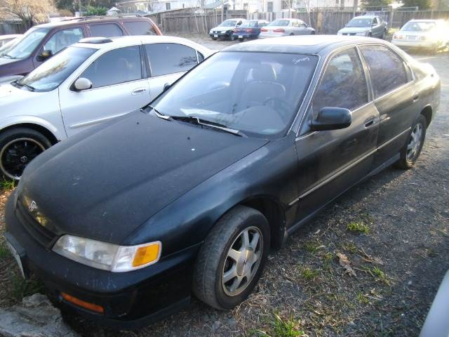 1994 HONDA ACCORD EX SEDAN green abs brakesair conditioningalloy wheelsanti-brake system 4-wh