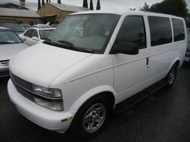 2003 CHEVROLET ASTRO RWD 3DR MINIVAN white abs - 4-wheel center console clock cruise control d