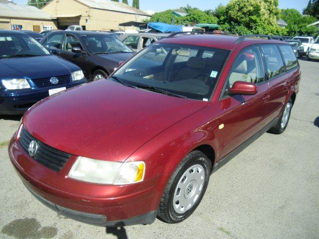 1999 VOLKSWAGEN PASSAT GLS 18T 4DR TURBO WAGON red 15 inch wheels abs - 4-wheel anti-theft alar