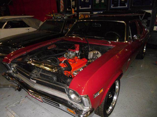 1969 CHEVROLET NOVA SS red matching number 0 miles VIN 11111111111111113