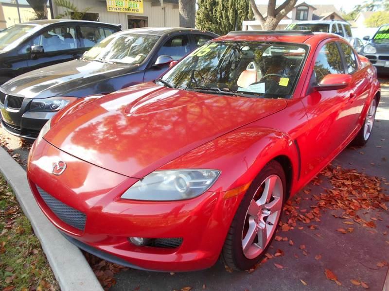 2005 MAZDA RX-8 red 115901 miles VIN JM1EE173050148125
