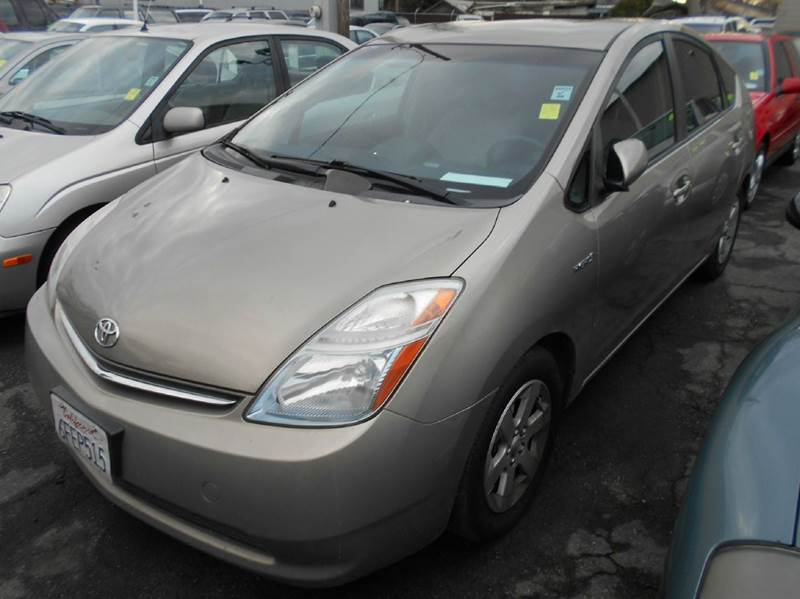 2007 TOYOTA PRIUS BASE 4DR HATCHBACK gray 2-stage unlocking doors abs - 4-wheel air filtration