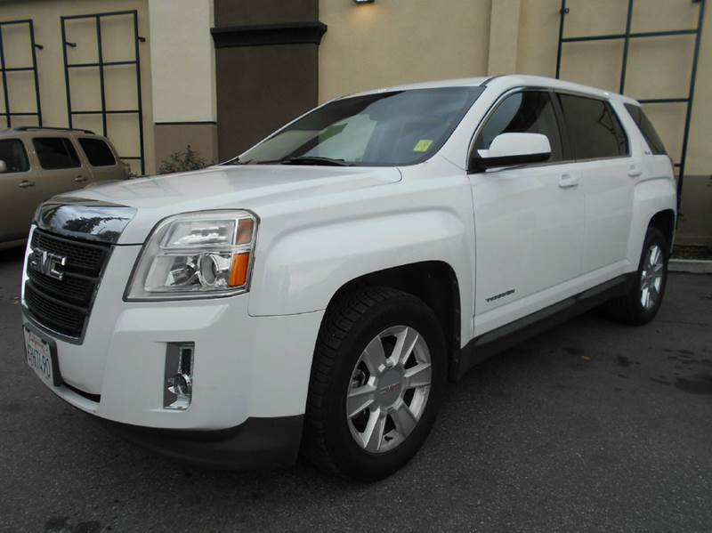 2011 GMC TERRAIN SLE-1 4DR SUV white abs - 4-wheel airbag deactivation - occupant sensing passen