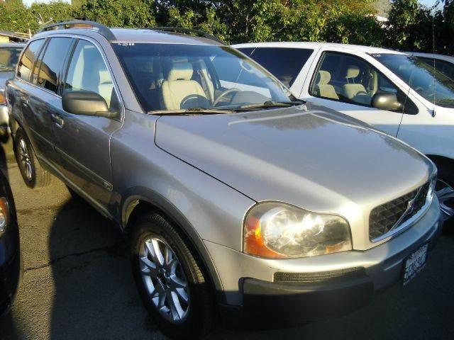 2004 VOLVO XC90 T6 AWD 4DR SUV silver abs - 4-wheel anti-theft system - alarm cd changer cente
