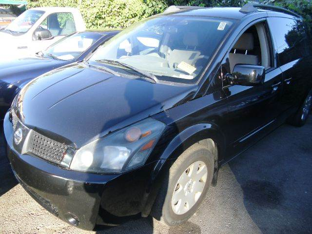 2005 NISSAN QUEST 35 SE black abs brakesadjustable foot pedalsair conditioningalloy wheelsam