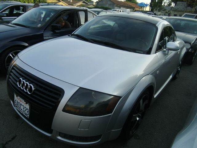 2001 AUDI TT 180HP QUATTRO AWD 2DR HATCHBACK silver abs - 4-wheel alloy wheels aluminum accents