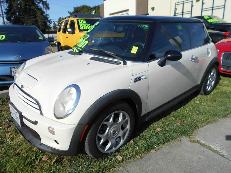 2006 MINI COOPER S 2DR HATCHBACK white abs - 4-wheel air filtration airbag deactivation - occup