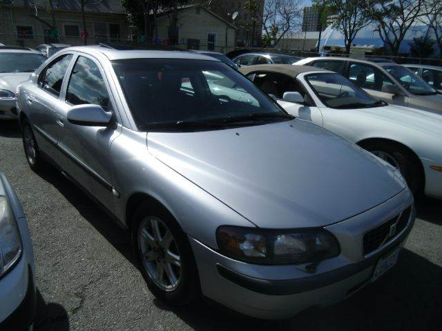 2002 VOLVO S60 T5 4DR SEDAN silver abs - 4-wheel anti-theft system - alarm cassette center con