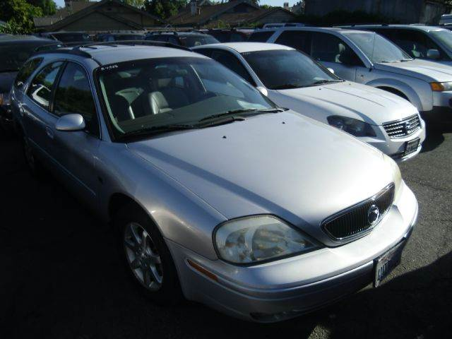 2001 MERCURY SABLE LS PREMIUM blue air conditioningalloy wheelsamfm radioanti-brake system no