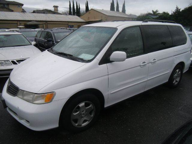 2000 HONDA ODYSSEY EX 4DR PASSENGER VAN white abs - 4-wheel anti-theft system - alarm captain ch
