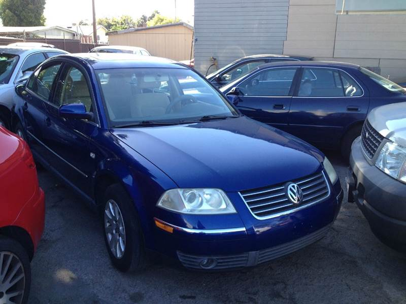 2001 VOLKSWAGEN PASSAT GLS 18T 4DR NEW TURBO SEDAN blue abs - 4-wheel anti-theft system - alarm