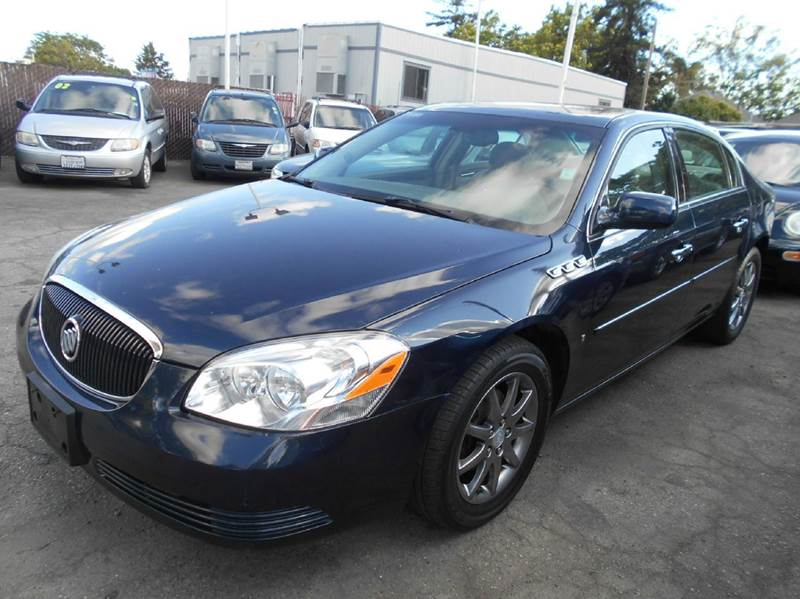 2007 BUICK LUCERNE CXL V6 4DR SEDAN blue 2-stage unlocking doors abs - 4-wheel air filtration