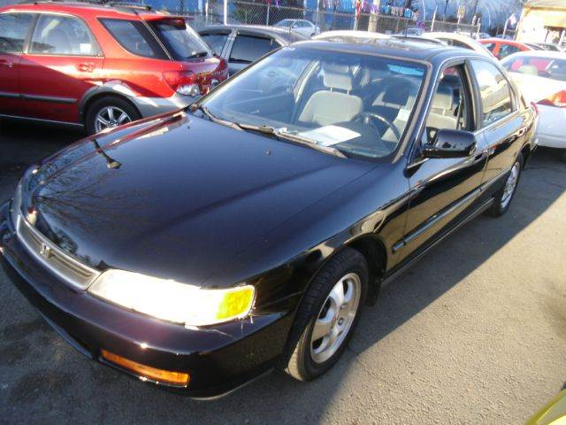 1997 HONDA ACCORD SPECIAL EDITION SEDAN blue air conditioningalloy wheelsanti-brake system non