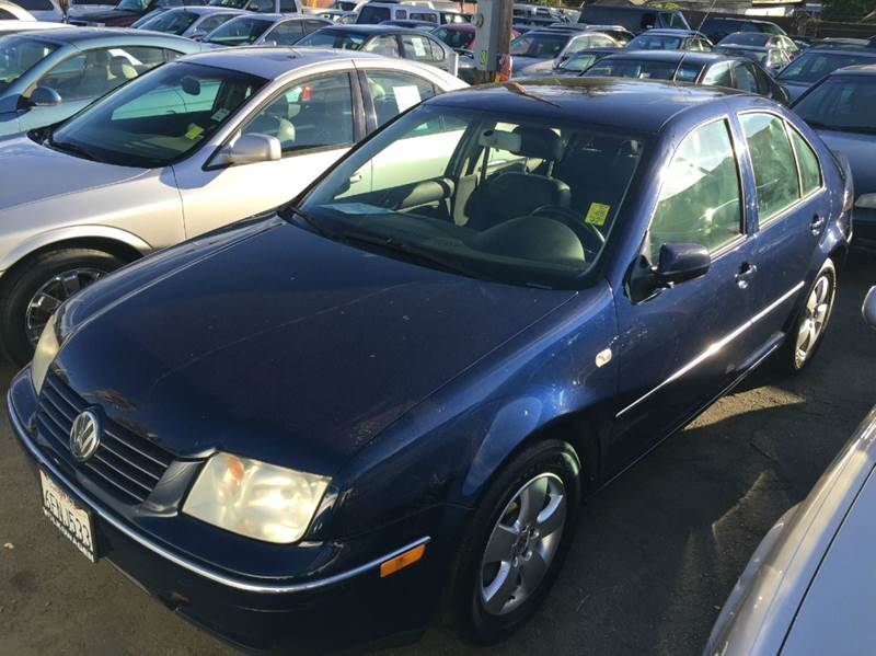 2004 VOLKSWAGEN JETTA GLS 18T 4DR TURBO SEDAN blue abs - 4-wheel anti-theft system - alarm cas