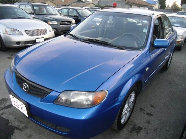 2003 MAZDA PROTEGE DX blue air conditioningamfm radioanti-brake system non-absbody style sed