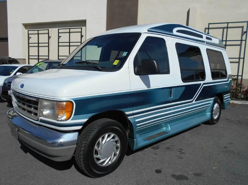 1996 FORD E-150 DELEGANT white 75000 miles VIN 1FDEE14HXTHB55332