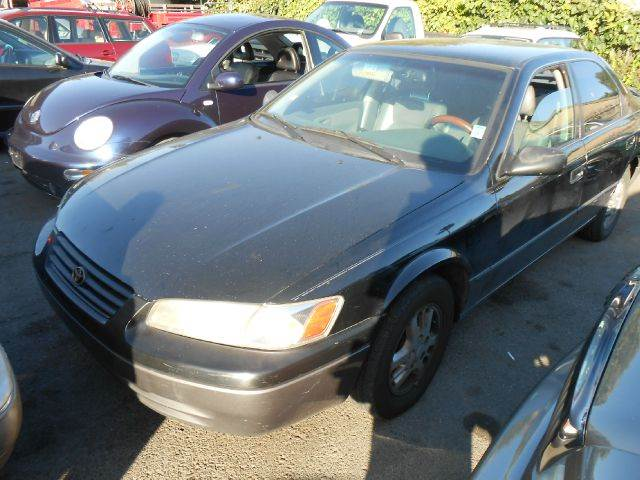 1997 TOYOTA CAMRY LE black air conditioninganti-brake system non-abs  4-wheel absbody style s