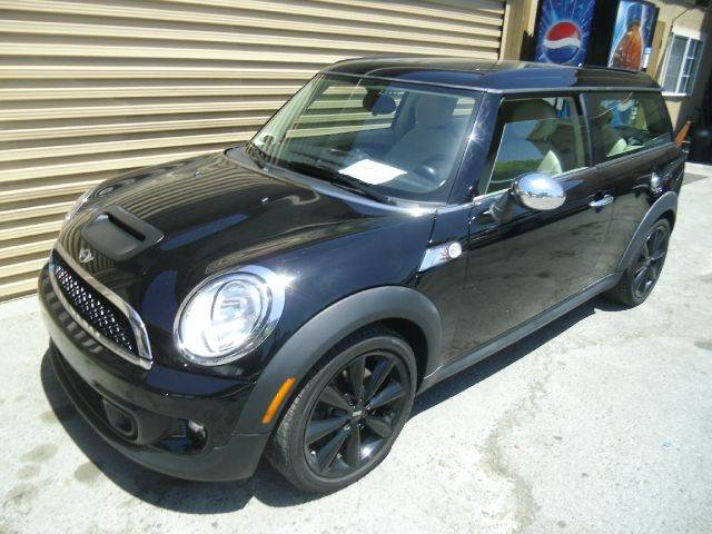 2011 MINI COOPER CLUBMAN S 3DR WAGON black 2-stage unlocking - remote abs - 4-wheel adjustable