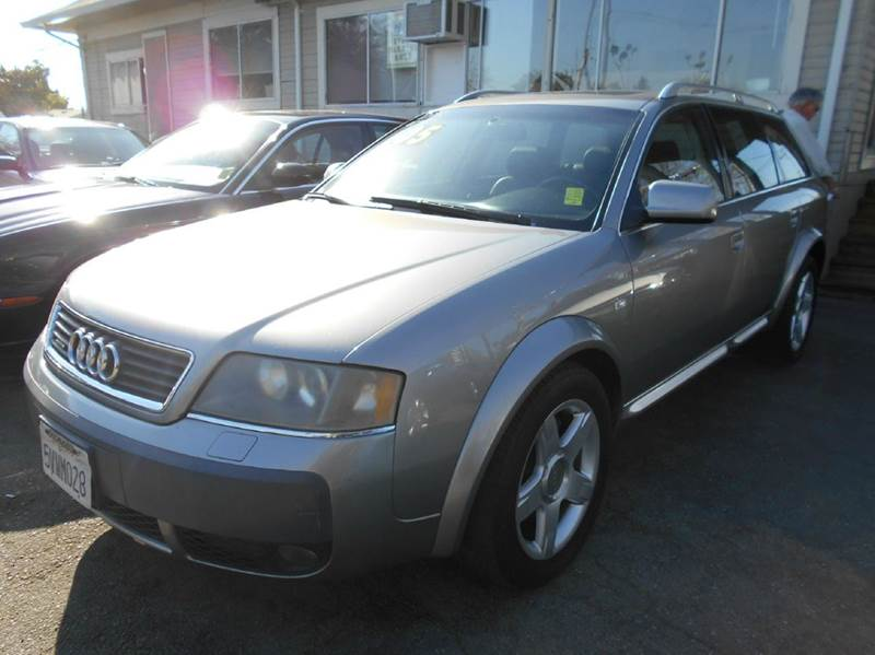 2005 AUDI ALLROAD QUATTRO BASE AWD 4DR TURBO WAGON gray abs - 4-wheel anti-theft system - alarm