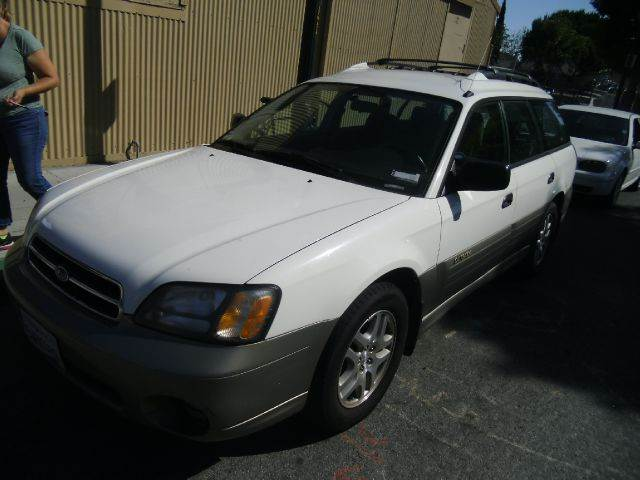2000 SUBARU OUTBACK BASE AWD 4DR STD WAGON white 16 inch wheels abs - 4-wheel alloy wheels cas